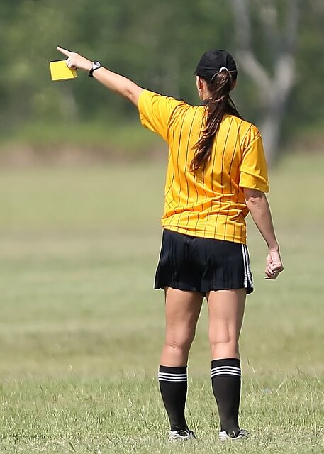 Soccer Referee Subject to Domestic Trade Tax also for Umping Abroad